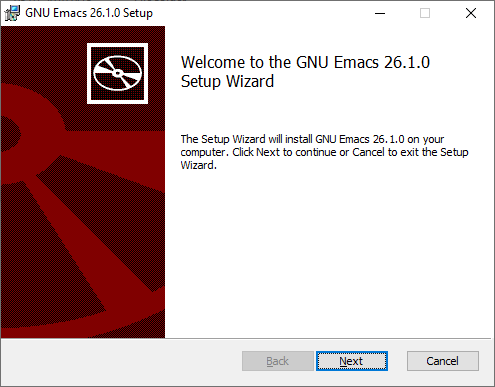 MSI Installer for GNU Emacs